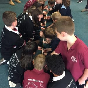 Leadership Day - Teamwork activities
